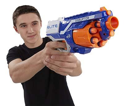 Nerf Gun Elite Disruptor Softpfeil Pistole