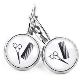 Ohrringe für Friseurinnen
