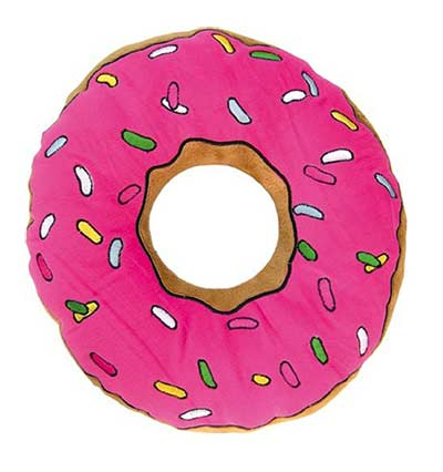 """Originelle Geschenke Donut Kissen """"The Simpson"""""""