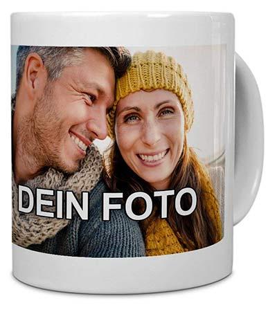 Personalisierte Geschenke Tasse mit Foto