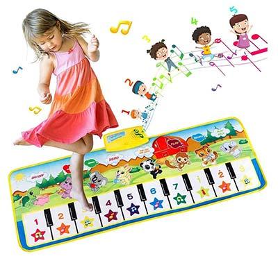 Piano Tanzmatte für Kinder ab 3 Jahren
