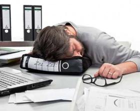 Power Nap lustiges Bürokissen für Arbeitskollegen