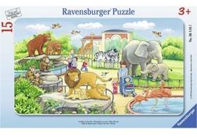 Puzzle Ausflug in den Zoo