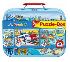 Puzzle-Box Verkehrsmittel