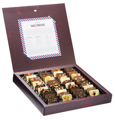 Schokoladen Weltreise chocri