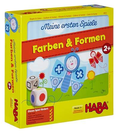 Zuordnungsspiel Farben und Formen