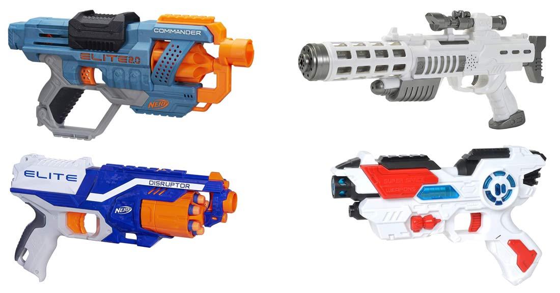 Spielzeugpistolen für Kinder