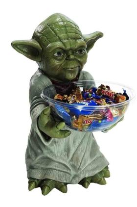 Star Wars: Yoda Süßigkeiten Halter, Kinder