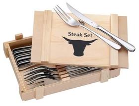 Steak-Besteck aus Edelstahl