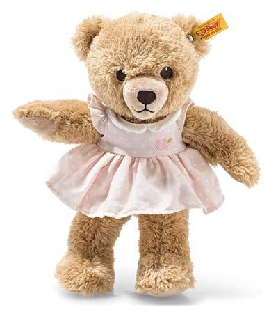 Teddybär mit Kleid