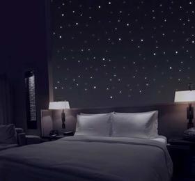 Sternenhimmel aus 360 Leuchtpunkten