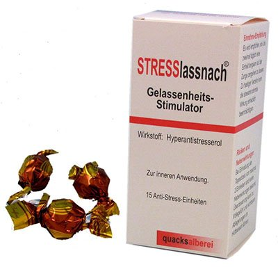 Stress lass nach Gelassenheitsstimmulator