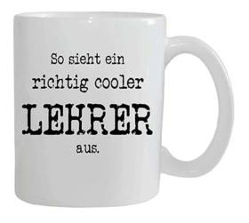 Tasse für einen coolen Lehrer