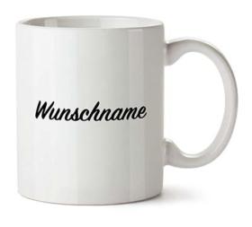 Tasse mit Wunschname