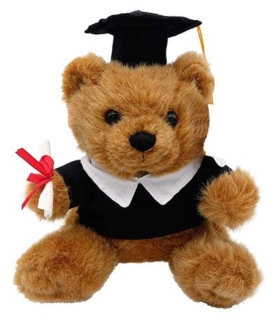 Teddybär zur bestandenen Prüfung