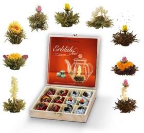 Teeblumen Geschenkbox