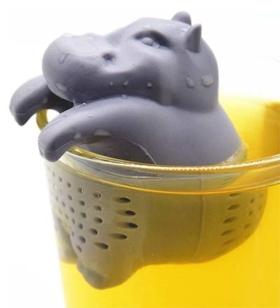 Teesieb Nilpferd