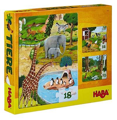 Tiere Puzzle