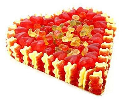 Valentinstag Geschenk Frau Fruchtgummi Herz