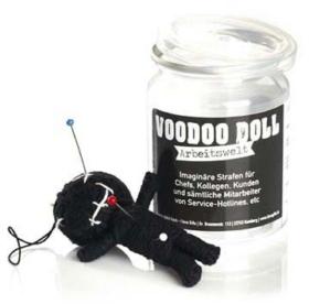 Voodoo Puppe Arbeitswelt