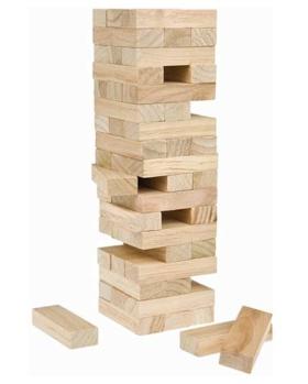 XXL Wackelturm aus Holz