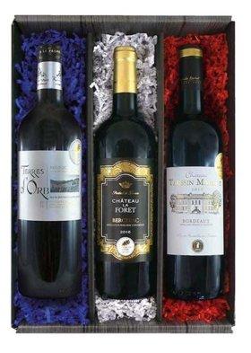 Wein Geschenkbox Frankreich