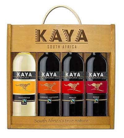 Genschenkset Wein aus Südafrika