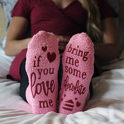 Wenn du mich liebst Socken