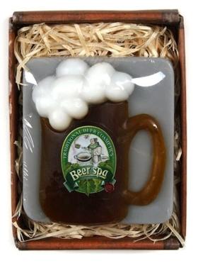 Witzige Geschenke Bierkrug Seife