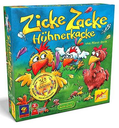 Zicke Zacke Hühnerkacke - Gedächtnisspiel ab 4 Jahren