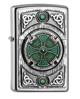 Zippo Feuerzeug Celtic Cross